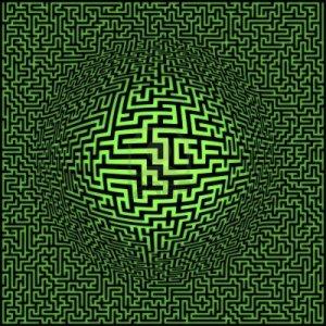 9591320-arriere-plan-de-labyrinthe-du-labyrinthe-avec-le-centre-de-la-sphere